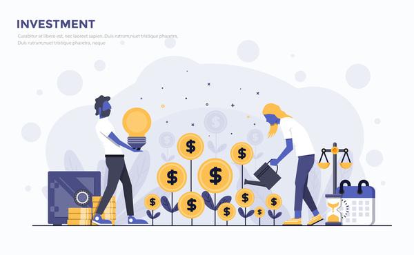 Verksamhet platt investeringar