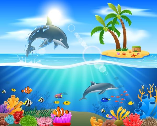 undervattensvärlden O