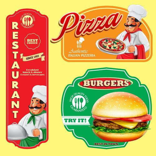 menu Italiane etichette