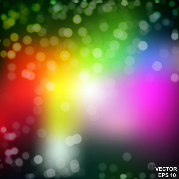 suddig ljus Effekt bokeh