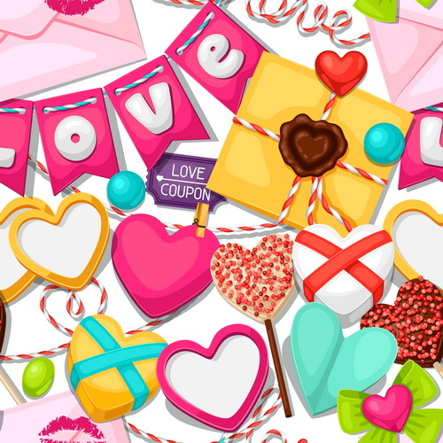 San Valentino modello giorno amore