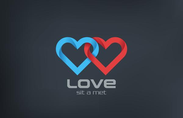 愛 心 ロゴ