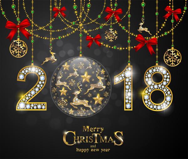 Weihnachten Neu Luxus Jahr Diamanten 2018