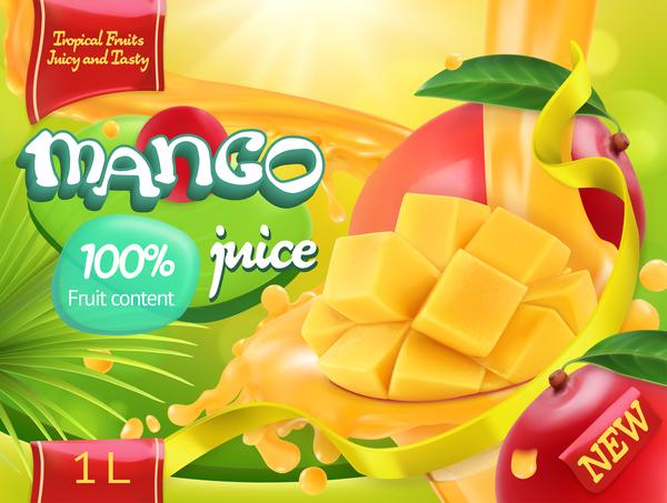 Saft poster mango