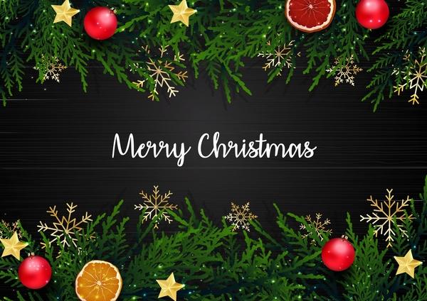 Noel joyeuse frontières decoration
