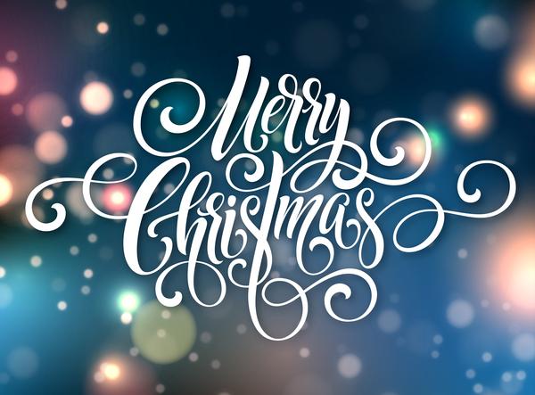 Weihnachten verwischt text Frohe Abstrakt