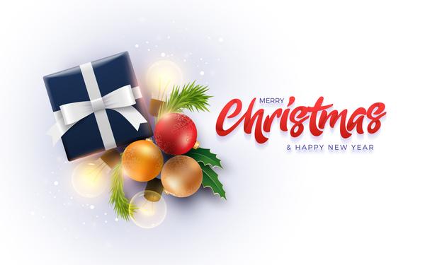 voeux nouveau Noel joyeux carte annee