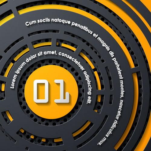 ronde metal infographie