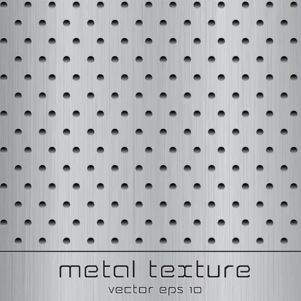 Texture en métal art