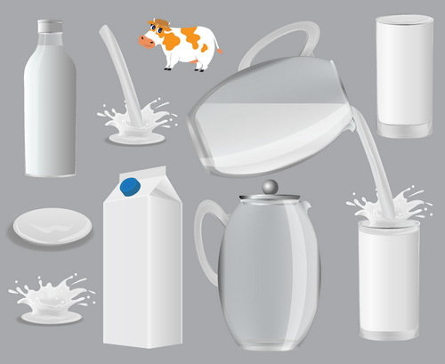 Milch container