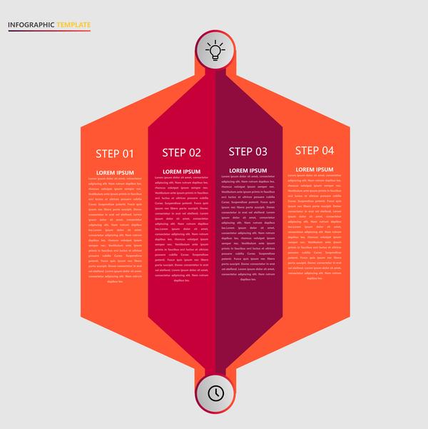 minimalistic Infografik design