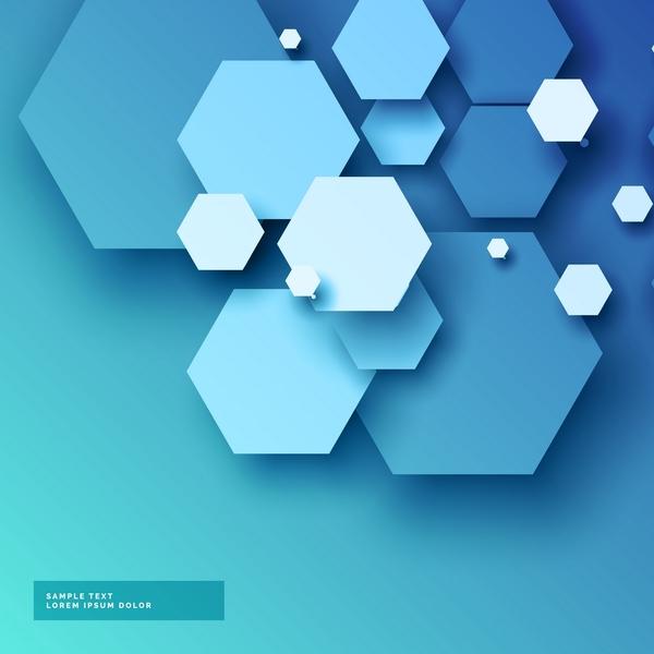 modern hexagon