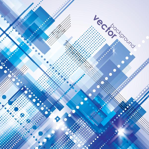 Moderne Blau Business Vektor Hintergrundmaterial Welovesolo
