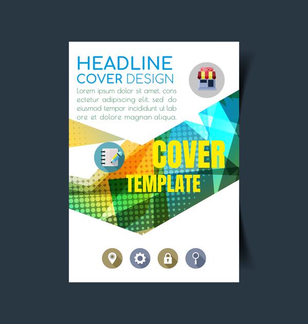 modern flyer cover business Broschüre