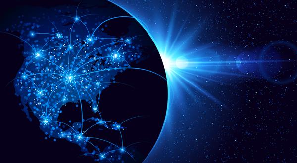 tech réseau moderne global