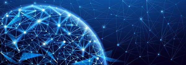 tech nätverk Moderna Globala
