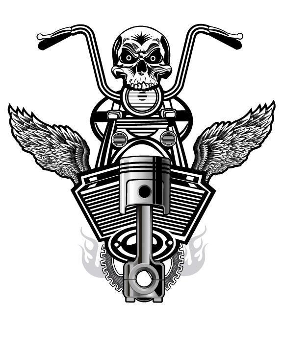 Motorrad melden Sie club