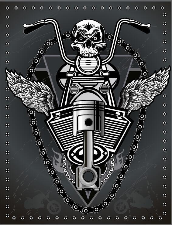motorcykel logga club