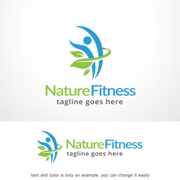 Natur logo fitness