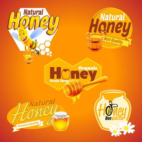 nature miel bannières