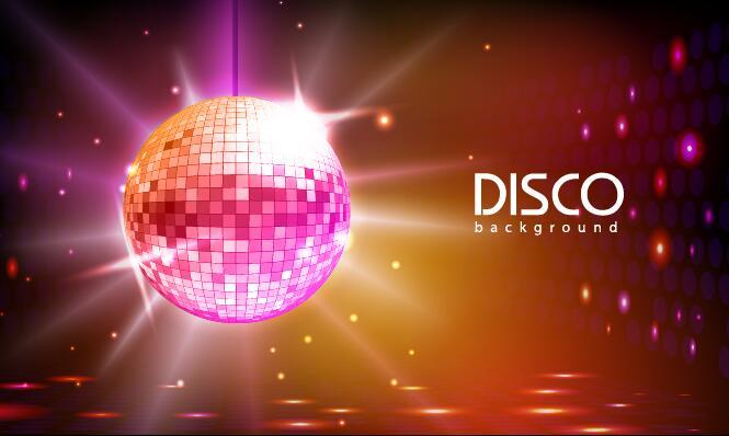 palla neon discoteca
