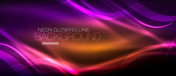 neon line Glühend