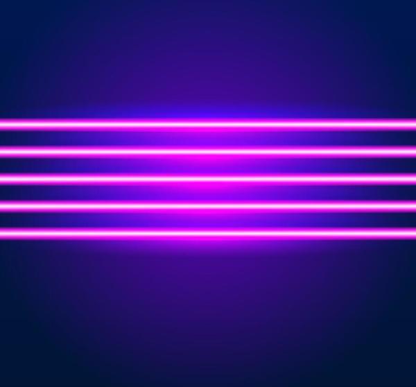 neon luci brillante