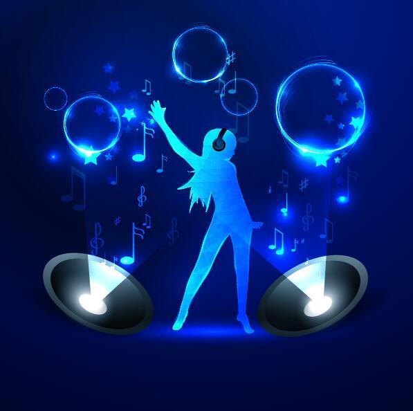 neon Musik line