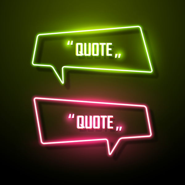 neon cadres