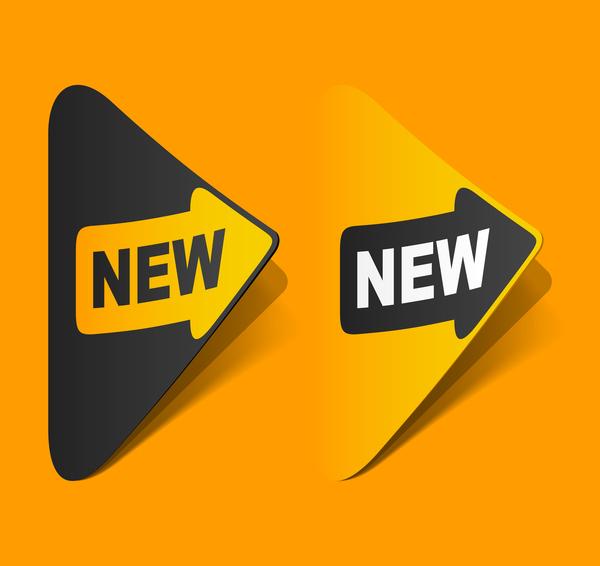 new labels arrow