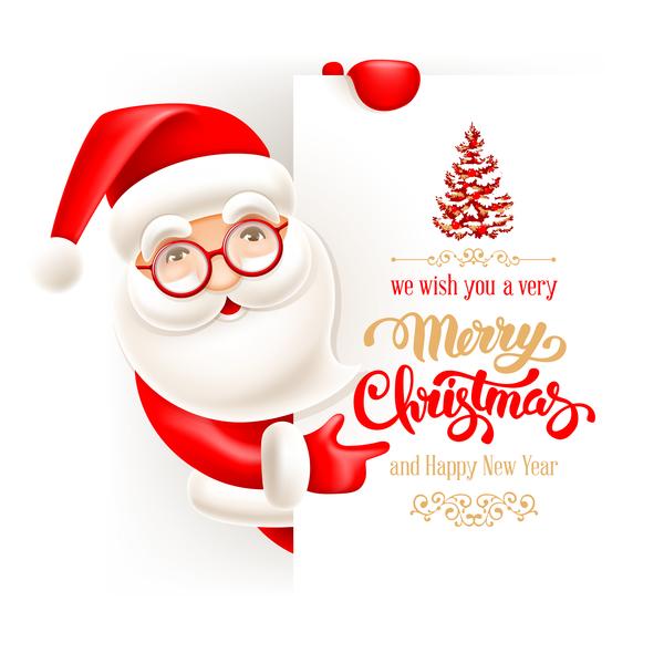 voeux nouvel an Noel