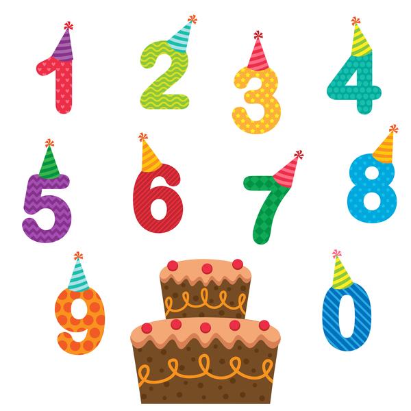 tårta tal Födelsedag