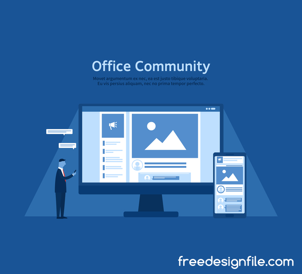 office community business