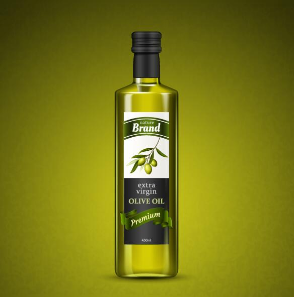 olja oliv gröna flaska