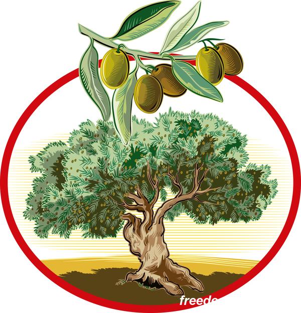 treeIn ram olive Cirkulär