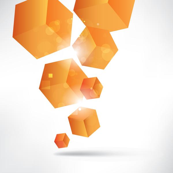 Cubo arancione