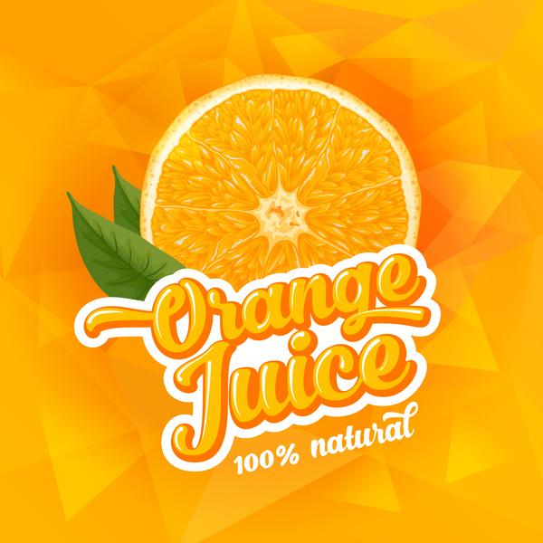 Succo poster orange