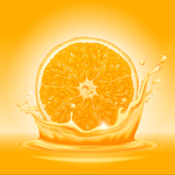 splash Saft orange