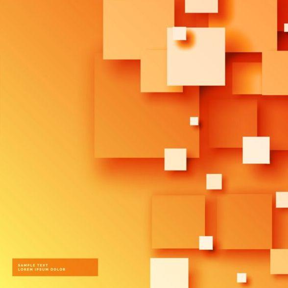 orange modern Abstrakt