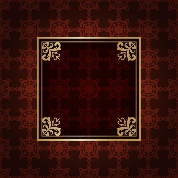 ビンテージ パターン 、デコ、フレーム、Ornate