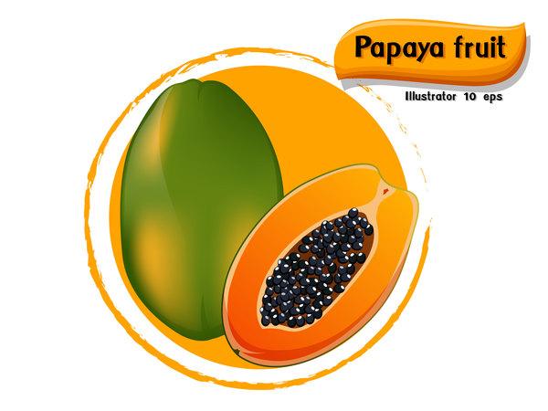 papaya frukt