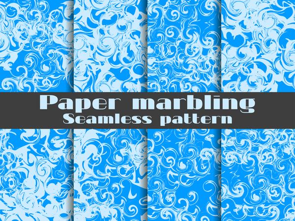 Papier nahtlose Muster Marmorierung