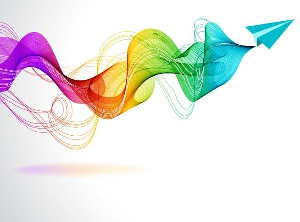 、色、紙、平面波