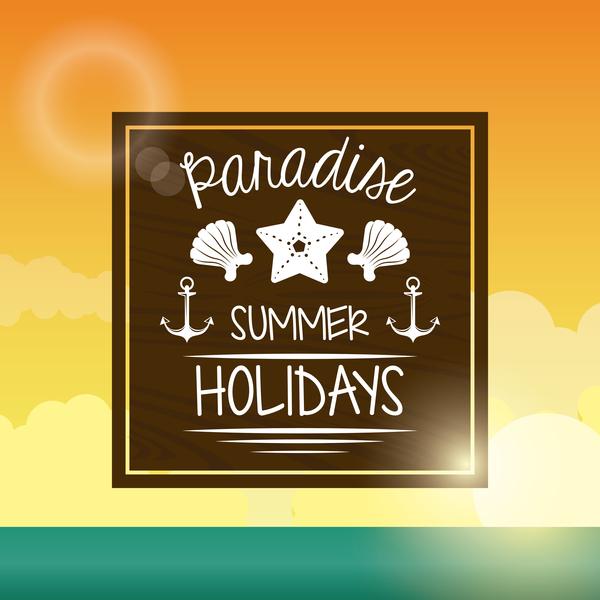 sommar semester resor paradise