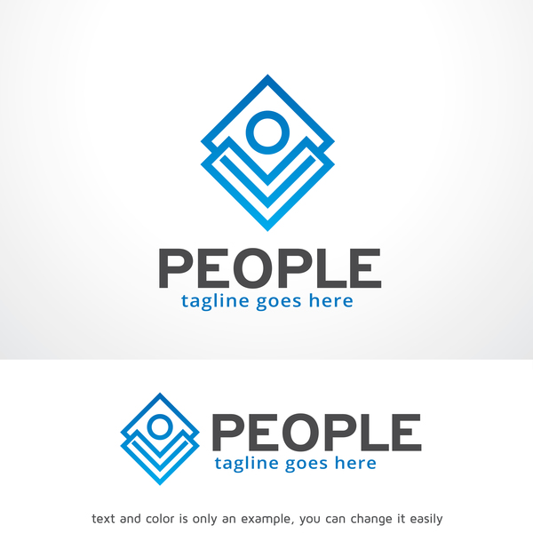 Menschen logo Kreative