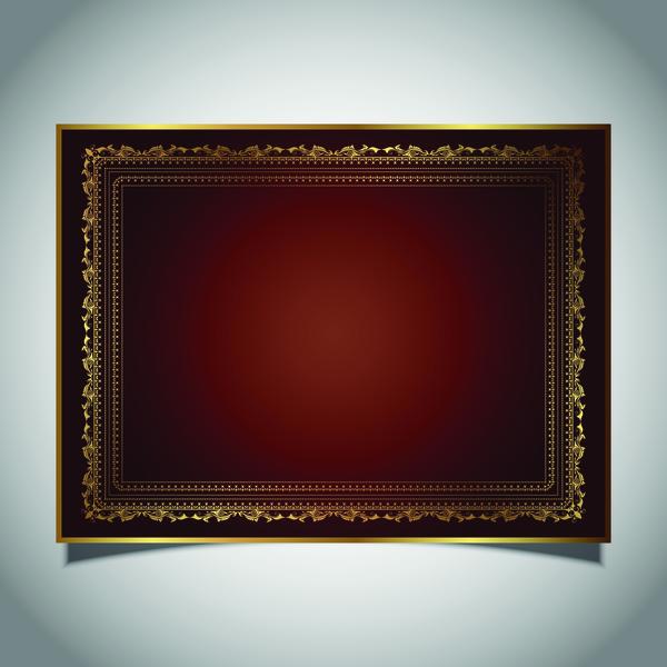 Rahmen golden foto