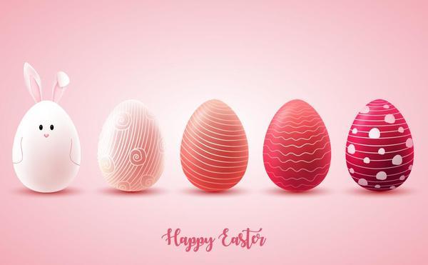 uovo di Pasqua Rosa Pasqua