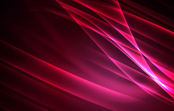 rouge polaire pink lumières Abstrait