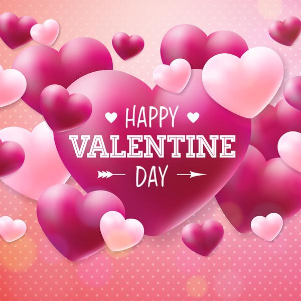 San Valentino rosso Rosa forma cuore carta
