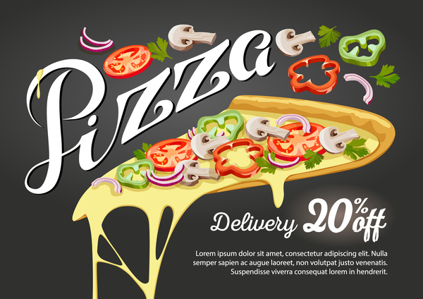 sconto poster pizza